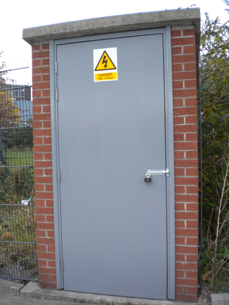 Safety door example in Bristol