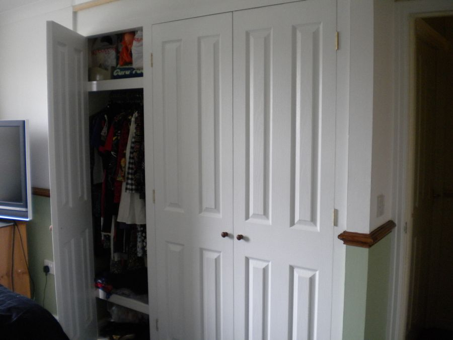 Built in door example