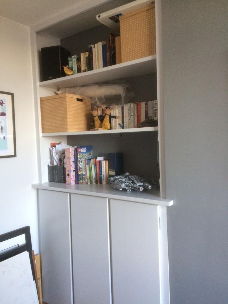 Carpenter Services, Bristol Alcove Storage - Slide Two